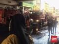 Kebakaran di Blok C Pasar Tanah Abang, Jalan Ditutup