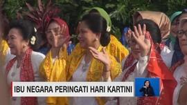 VIDEO: Ibu Negara Iriana Peringati Hari Kartini