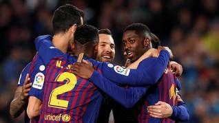 Live Streaming Barcelona vs Levante di Liga Spanyol
