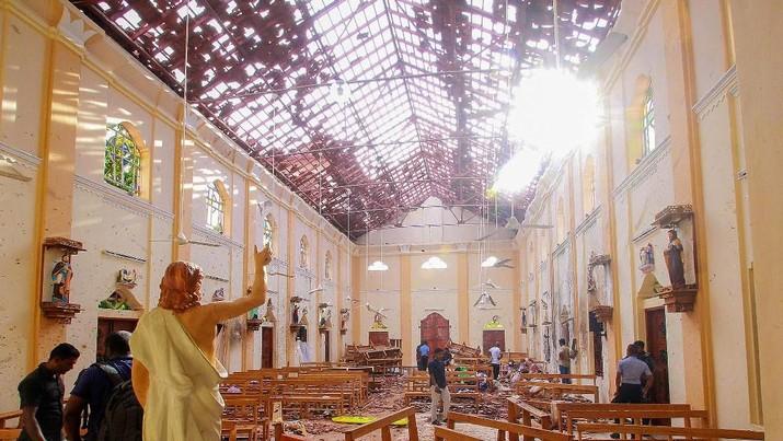 Lalai Cegah Bom, Eks Bos Polisi & Menhan Sri Lanka Ditangkap