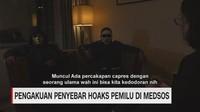VIDEO: Pengakuan Penyebar Hoaks Pemilu di Medsos