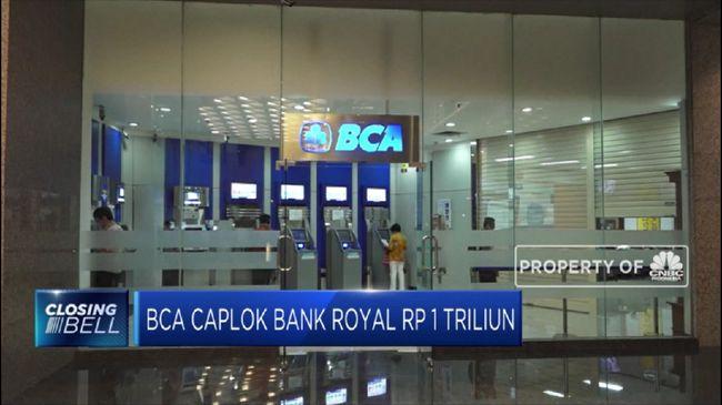BCA Caplok Bank Royal Rp 1 Triliun