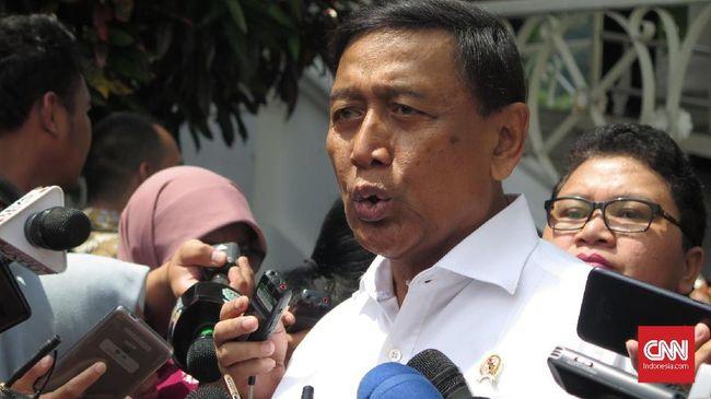 Wiranto Perintahkan Aparat Tindak Tegas Pelanggar Pemilu 2019