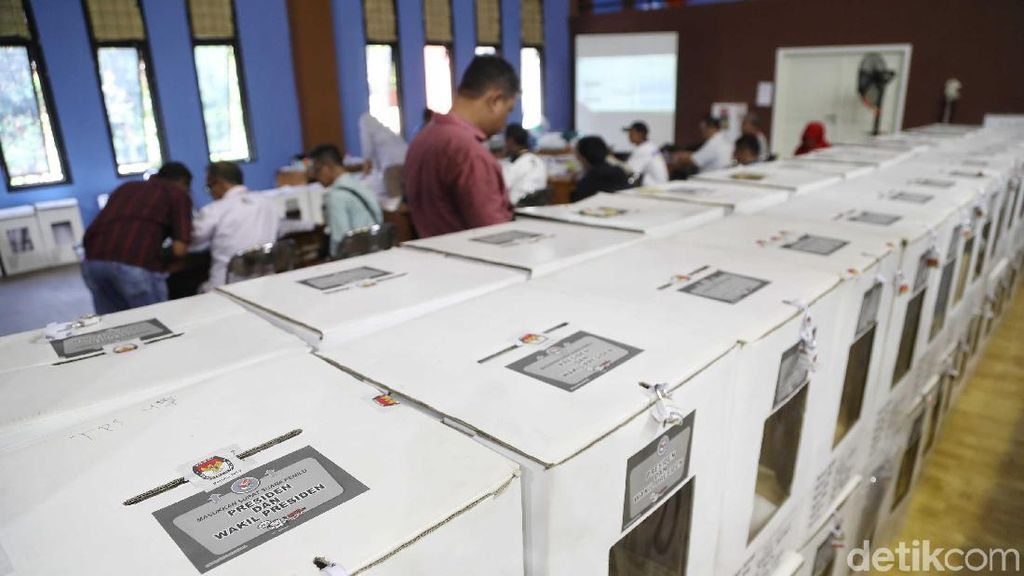 Data Masuk di KPU 28%, Prabowo-Sandi Unggul di 16 Wilayah di Sumsel
