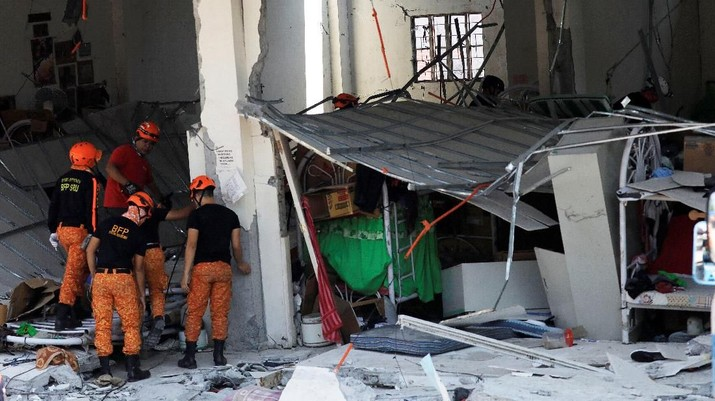 Begini Kondisi Terkini Filipina Usai Diguncang Gempa M 6,1