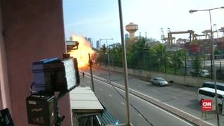 VIDEO: Aparat Sri Lanka Memburu Pelaku Pasca Teror Bom