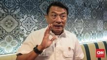 Moeldoko Sebut Pertemuan Jokowi-Prabowo Tunggu Momentum