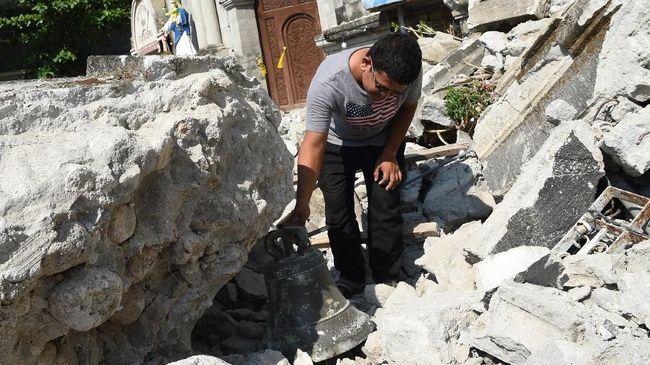 Gempa Magnitudo 6,6 Guncang Filipina