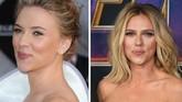 Scarlett Johansson di premier 'Iron Man 2' tahun 2010 (kiri) saat ia pertama terlibat di semesta Marvel dan ia masih menjadi Black Widow sampai 'Avengers: Endgame' 2019 (kanan). (Frazer Harrison/Getty Images/AFP/VALERIE MACON)