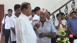 VIDEO: Presiden Sri Lanka Melayat Korban Ledakan Bom Paskah
