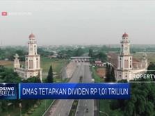 DMAS Tetapkan Dividen Rp 1,01 Triliun