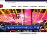 Asumsi Harga Non-HMETD VIVA Rp 154 Per Saham