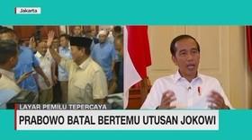 VIDEO: Prabowo Batal Bertemu Utusan Jokowi