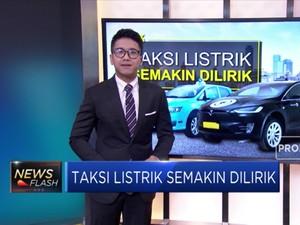 Taksi Listrik Semakin Dilirik