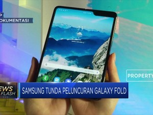 Samsung Tunda Peluncuran Samsung Galaxy Fold