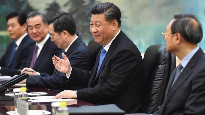 Presiden China Xi Jinping kembali mengutarakan retorikanya dalam perang dagang dengan Amerika Serikat (AS).