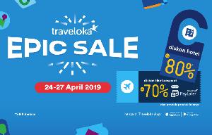5 Kelebihan Promo Epic Sale Traveloka Hingga 80%!