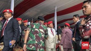 Hadiri Perayaan HUT Kopassus, Prabowo Kenang Semasa Kurus