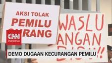 VIDEO: Sekelompok Orang Gelar Aksi Tolak Pemilu Curang