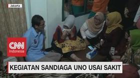 VIDEO: Usai Sakit, Sandiaga Bertemu Kwik Kian Gie & Relawan