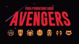 INFOGRAFIS: Para Pendatang Baru Avengers