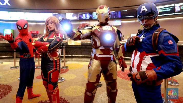 Wow, Penonton Serbu Bioskop Dari Subuh Demi Avengers Endgame!
