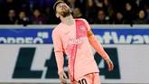 Tampil selama lebih kurang 30 menit, Lionel Messi tidak menyumbangkan gol atau assist. Messi mencatatkan tiga dribel sukses dan dua tembakan ke gawang. (REUTERS/Vincent West)