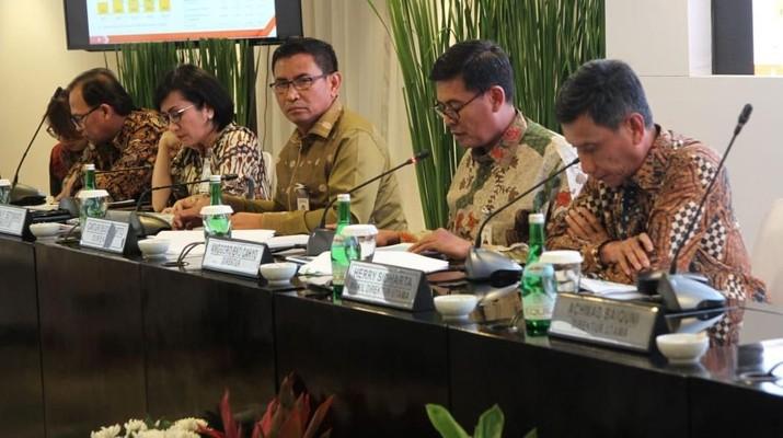 PT Bank Negara Indonesia Tbk (BBNI) menargetkan pertumbuhan laba bersih di tahun kisaran 11%-12% dari laba bersih tahun lalu.