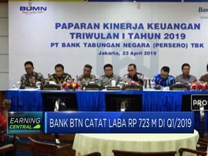 Bank BTN  Catat Laba Rp 723 M di Q1/2019