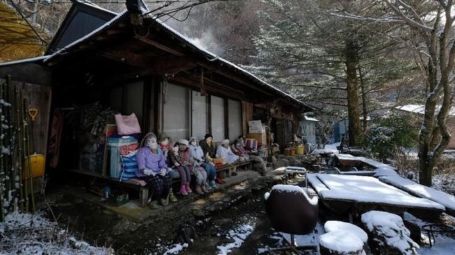 FOTO: Desa Boneka di Jepang