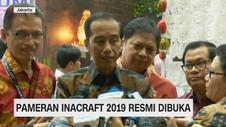 VIDEO: Pameran Inacraft 2019 Resmi Dibuka