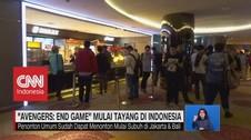 VIDEO: Antusias Warga Indonesia Menonton