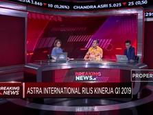 Q1 2019, Kinerja Astra International Tumbuh Tipis