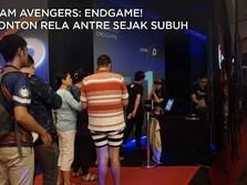 Perdana di RI, Ramainya Jamaah Nonton Subuh Avengers: Endgame
