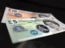 Poundsterling K.O. Lawan Rupiah, tapi Garang vs Dolar AS
