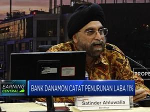 Bank Danamon Catat Penurunan Laba 11%