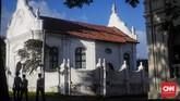 Jangan lupa mengunjungi Galle, kota kecil di selatan Kolombo. Galle menawarkan wisata masa lampau dengan bangunan tua peninggalan Belanda dan Inggris. (CNNImdonesia/Safir Makki)