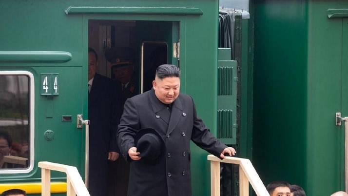 Jelang Bertemu Putin, Kim Jong Un Tiba di Rusia Naik Kereta