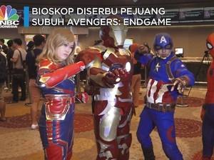 Begini Cerita Para 'Pejuang Subuh' Avengers: Endgame