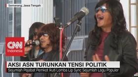 VIDEO: Kocak! Pejabat Pemkot Semarang Adu Lip Sync Lagu