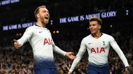 Hasil Liga Inggris: Tekuk Brighton, Tottenham Jauhi Chelsea