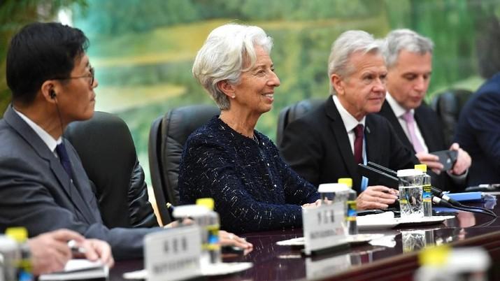 Lagarde akan menggantikan Mario Draghi.