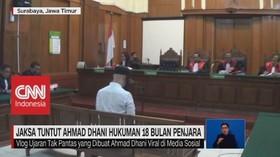 VIDEO: JPU Tuntut Ahmad Dhani Hukuman 18 Bulan Penjara