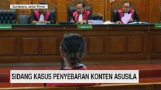 VIDEO: Sidang Kasus Penyebaran Konten Asusila Vanessa Angel