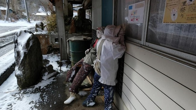 Nasib Nagoro mirip dengan nasib sebagian besar kawasan di Jepang, di mana jumlah populasi menurun, angka kelahiran rendah, dan harapan hidup yang tinggi.