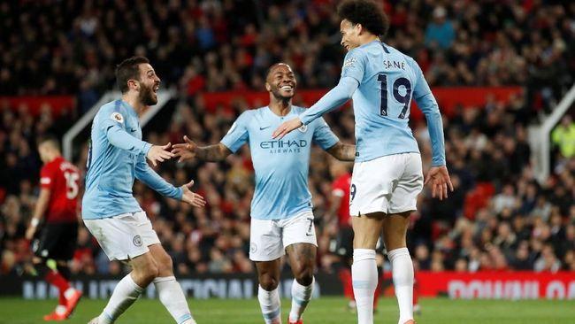 Man City Favorit Juara Liga Inggris Setelah Tekuk Man United