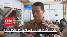 VIDEO: Pemerintah Pastikan Stok Pangan Jelang Ramadan Aman