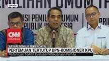 VIDEO: Datangi KPU, Tim BPN 02 Adakan Evaluasi Pemilu 2019