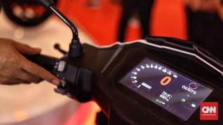 Pemerintah Incar Motor Listrik Tembus 2 Juta Unit pada 2025
