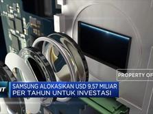 Samsung Alokasikan USD 9,57 Miliar Per Tahun Untuk Investasi